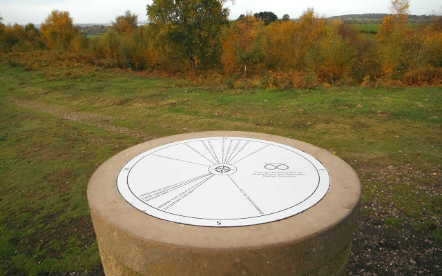 Toposcope on Barlaston Downs