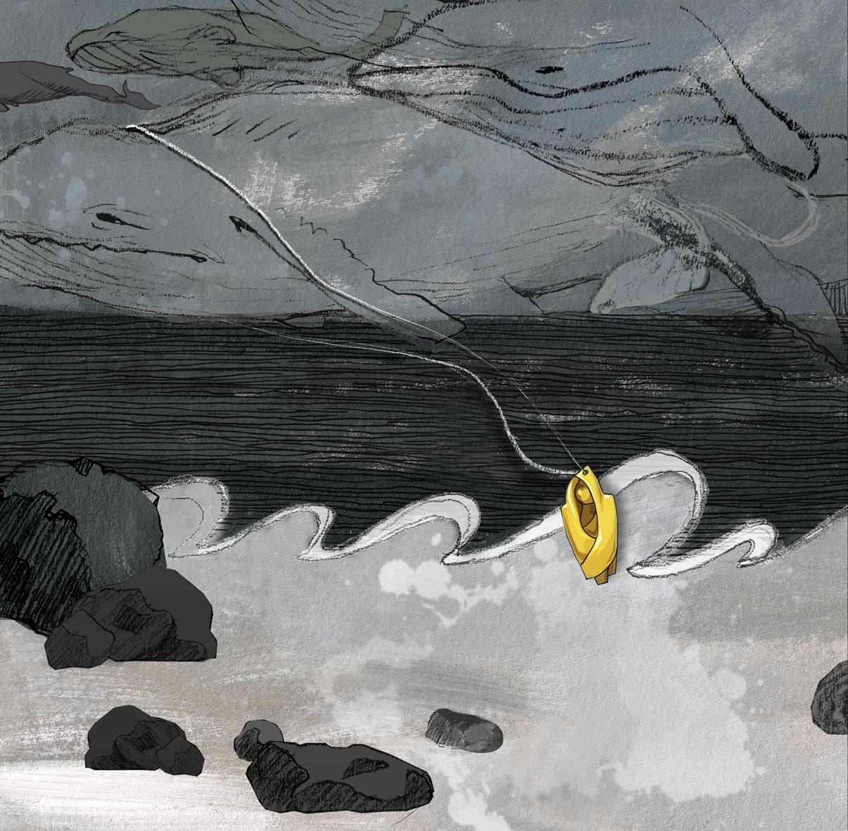 ilustracja Urbaniak kompozycje ilustracja na blogi strony internetowe do artykułów wierszy opowiadań  neil gaiman illustration