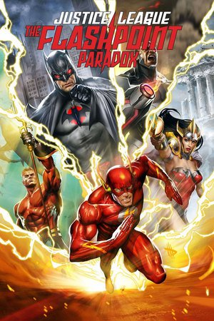Poster Justice League: The Flashpoint Paradox 2013