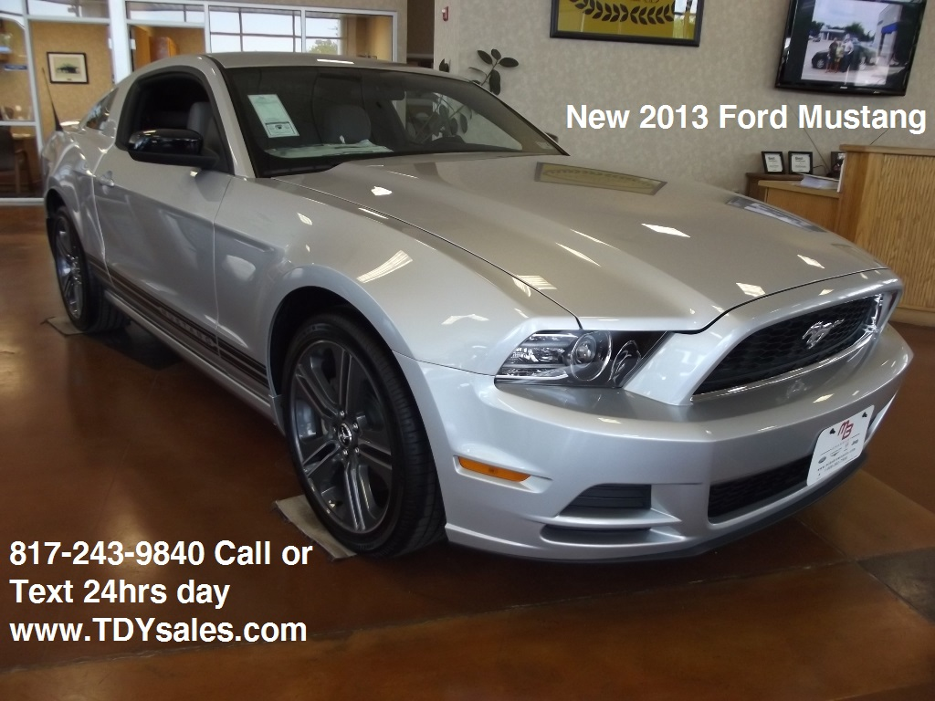 new 2013 ford mustang v6 performance package tdy sales in granbury texas 76049 tdy sales 817. Black Bedroom Furniture Sets. Home Design Ideas