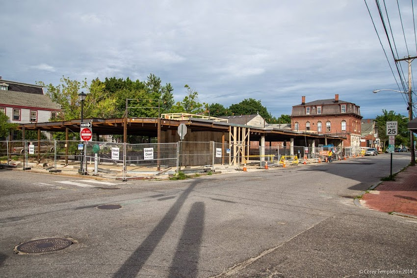 Portland, Maine July 2014 new construction building West End Place photo by Corey Templeton