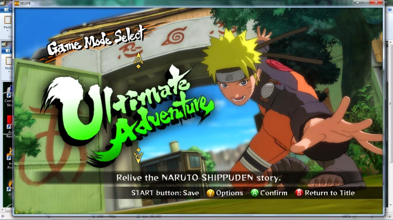 naruto ultimate ninja storm 3 full crack