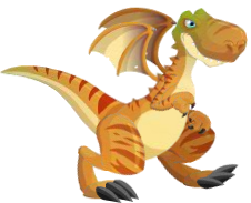 dragon t-rex adulto