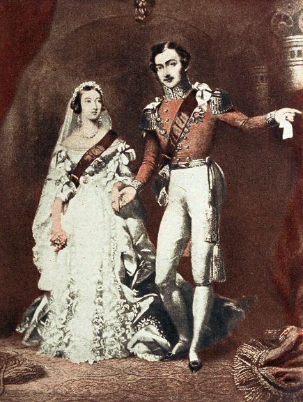 Queen Victoria Biography Marriage To Prince Albert