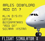 JUAL DVD Flight Simulator X beserta Add-on