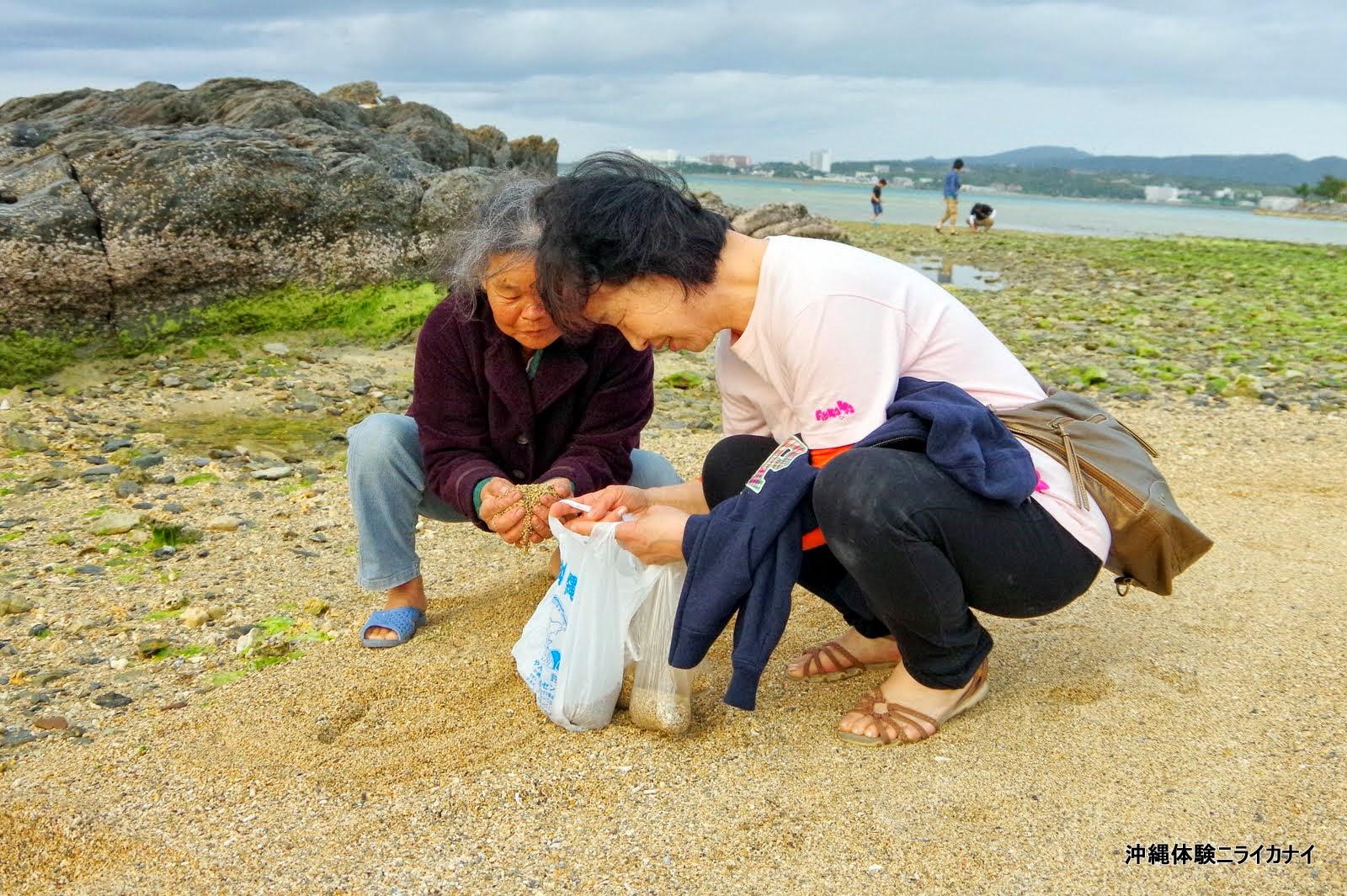 体験/観光 シーサー 恩納村 家族 子ども 海