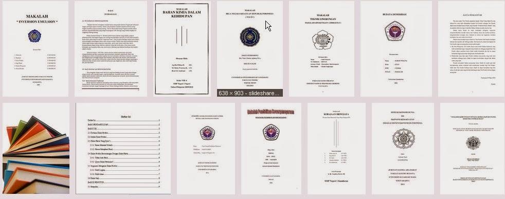 Makalah-makalah siap download dan gratis secara lengkap