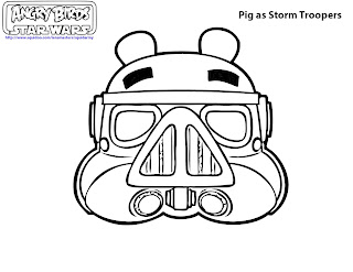 Angry Birds Coloring Pages - Pigs