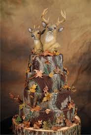 Camo Wedding Cake Toppers Pictures