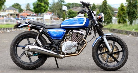 Kumpulan Foto dan Gambar Modifikasi Suzuki Thunder 125