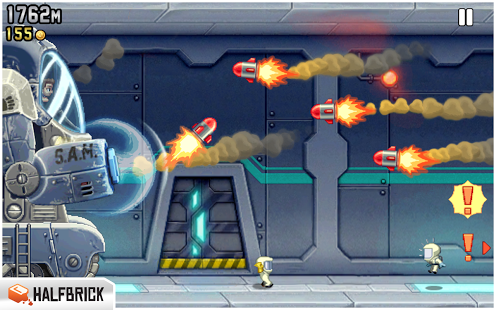 Jetpack Joyride v1.6 Unlimited Money for Android