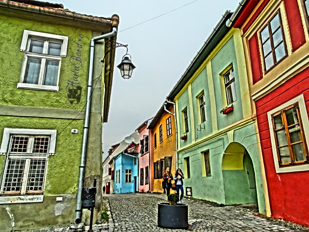 case colorate sighisoara februarie 2014