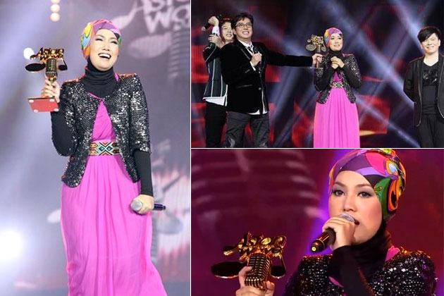 Tahniah Buat Shila Amzah - Juara Asian Wawe 2012