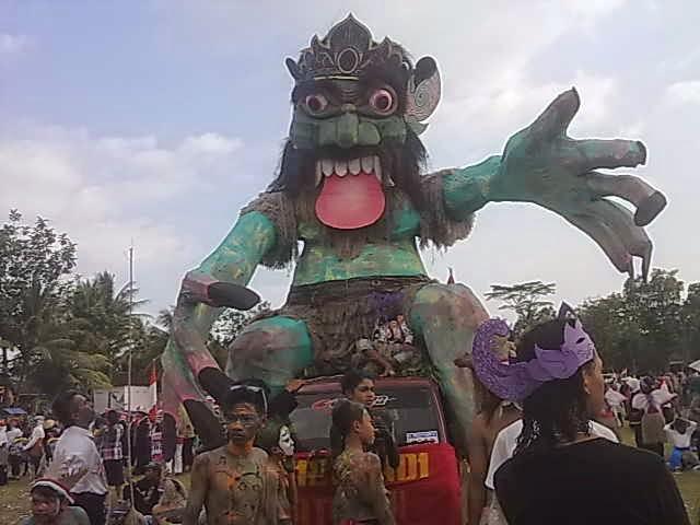 Buto Ijo dalam Karnafal Desa Matesih