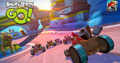Angry Birds Go! gratis para dispositivos móviles