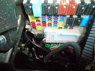 Fotofoto    Wiring    pemasangan Foglamp Honda Freed GB3 2011
