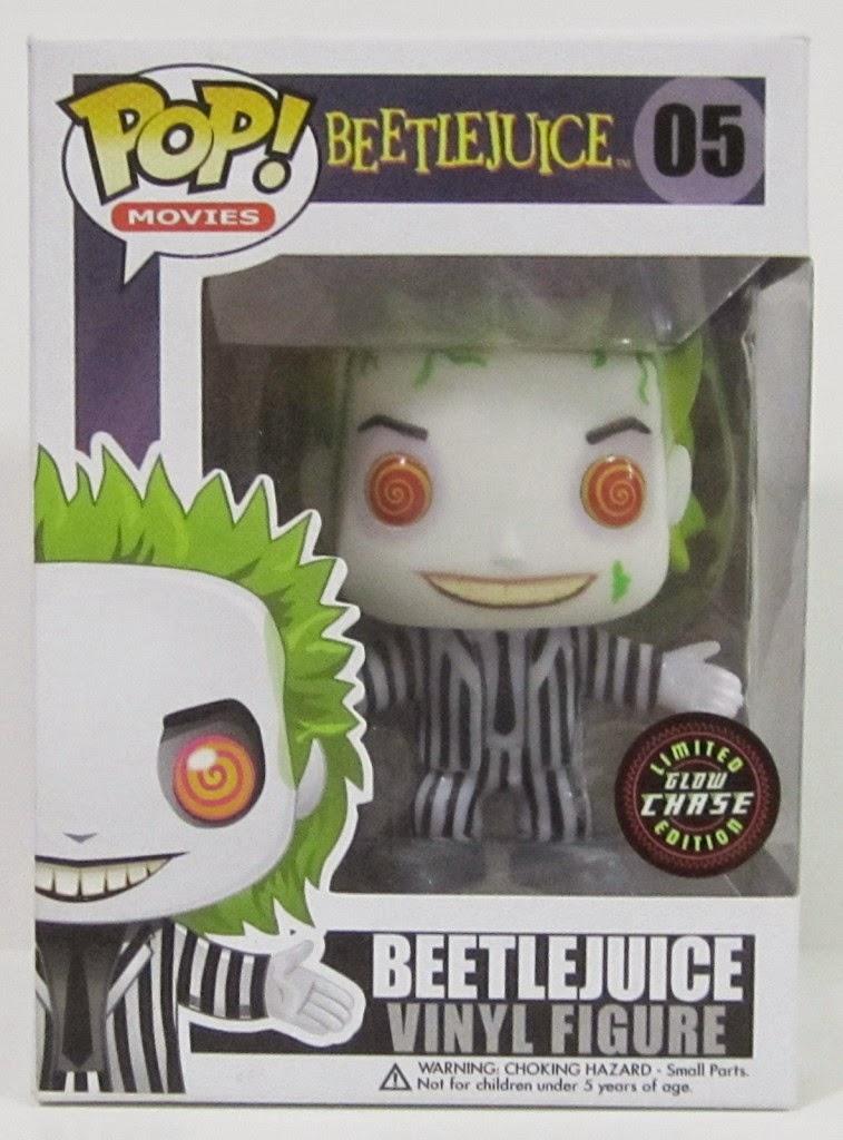 Funko Pop! Beetlejuice CHASE GITD