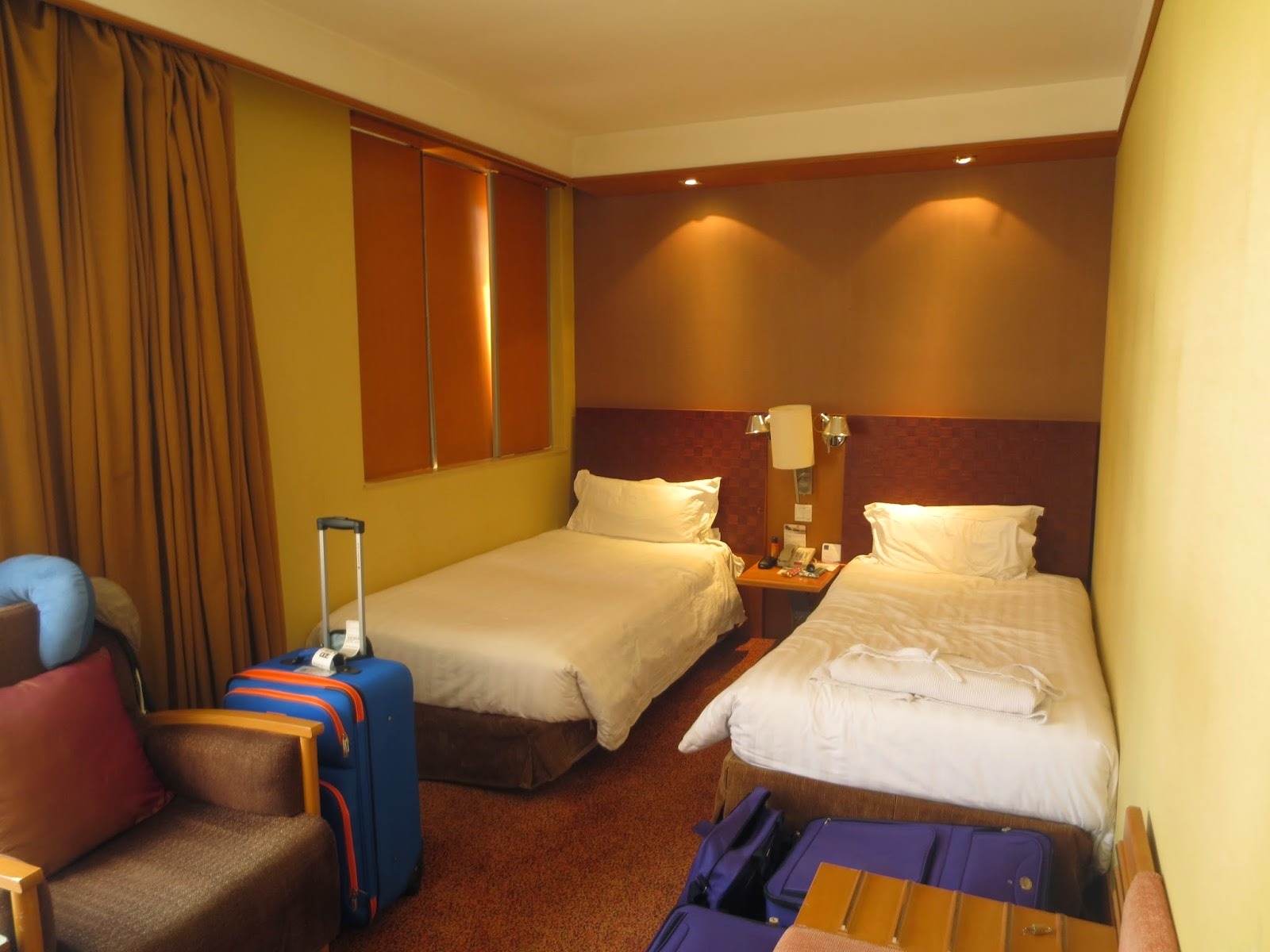 Novotel Beijing Peace Hotel Single Beds