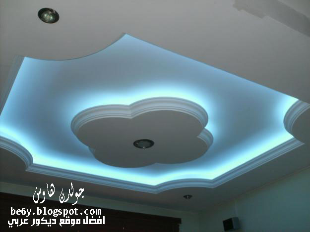 صور جبس معلق http://be6y.blogspot.com/2013/01/modern-gypsum-ceilings-designs-with-colored-light.html