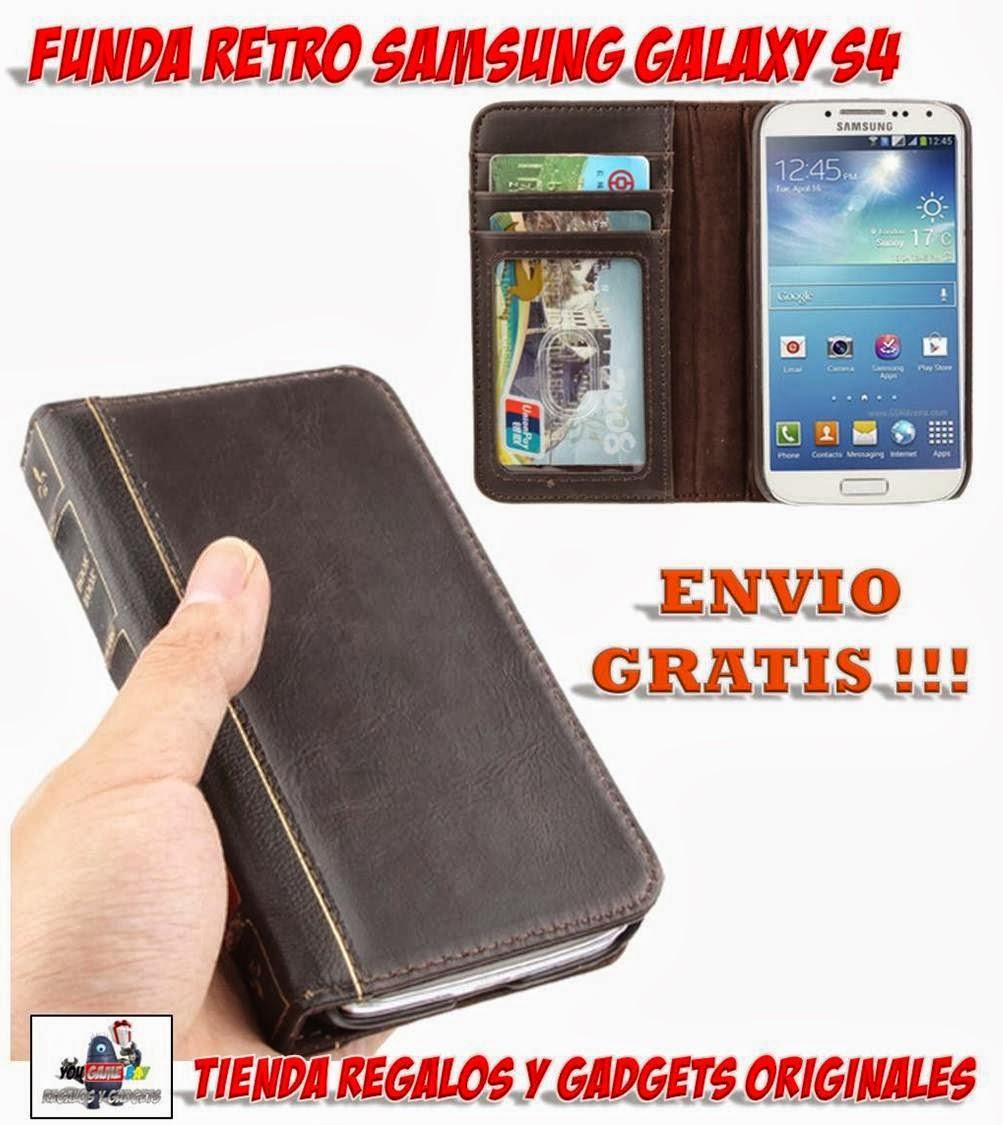 Funda retro libro antiguo para samsung galaxy s4 tiendas fundas para m viles - Comprar funda samsung galaxy s ...
