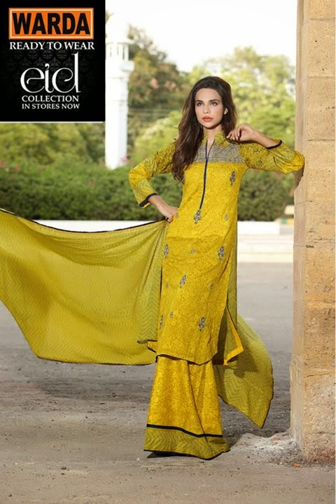 WARDA Ready To Wear EID Collection 2014