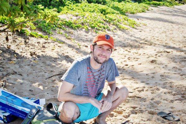 snorkeling at ulua beach