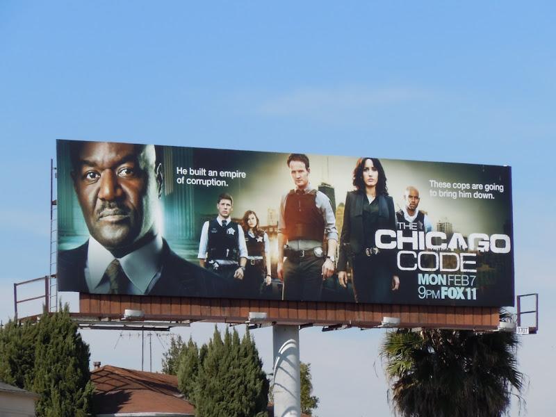 The Chicago Code billboard