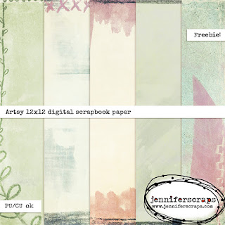 http://www.jenniferscraps.com/2015/05/25/freebie-new-pack-of-free-digital-artsy-papers/