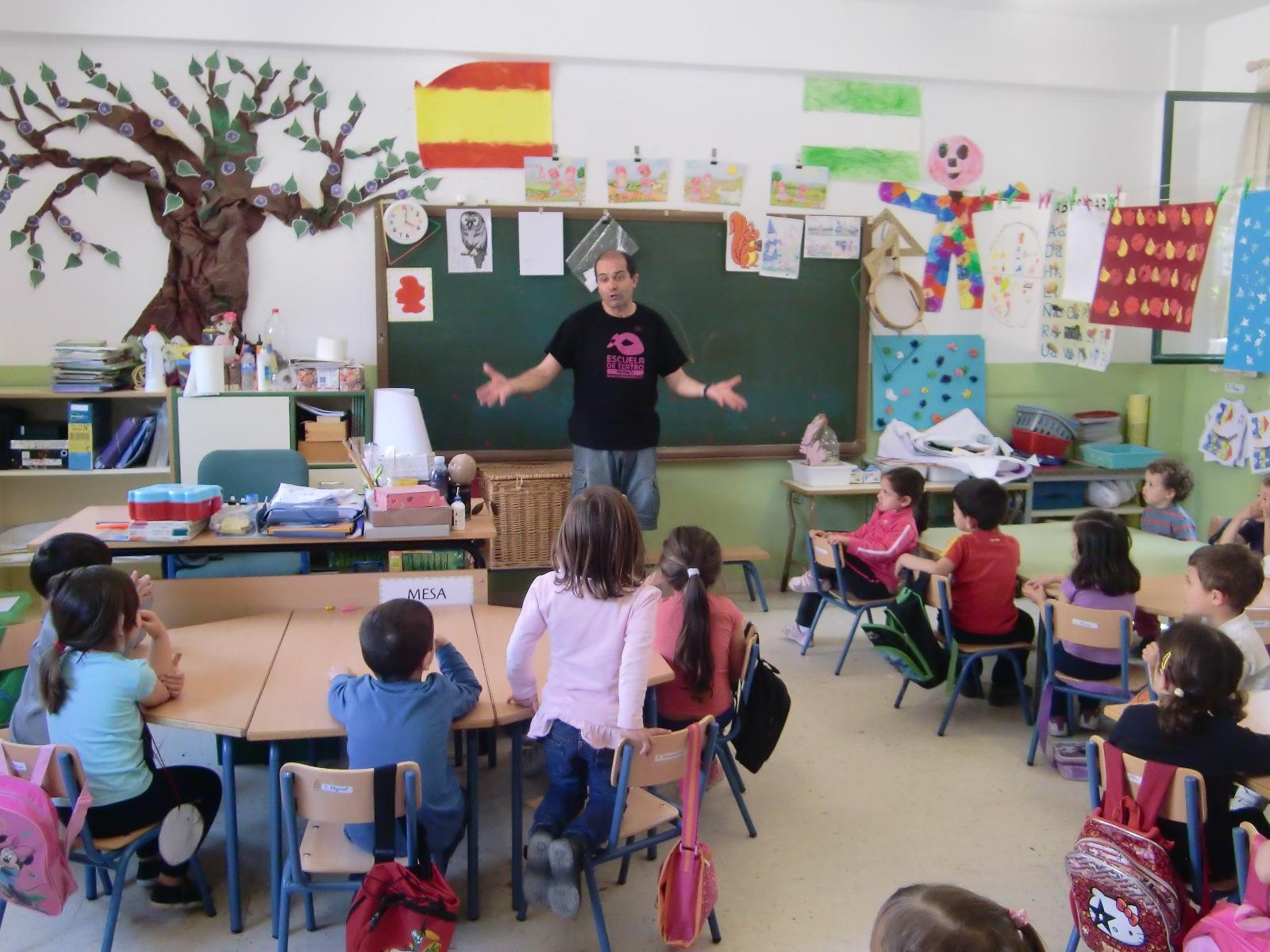 Profe rafa de infantil los payasos nos visitan en nuestra for En nuestra clase
