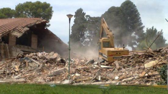 Que significa soñar con demolicion