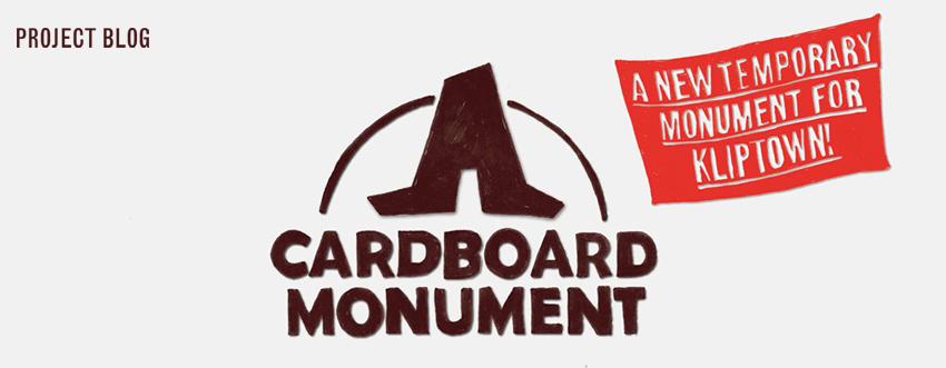 Cardboard Monument