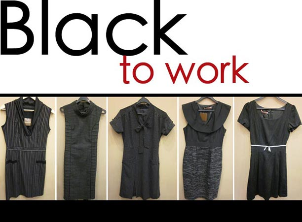 BLACK to work