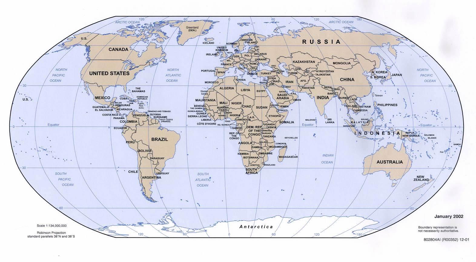 PZ C mapa mundo