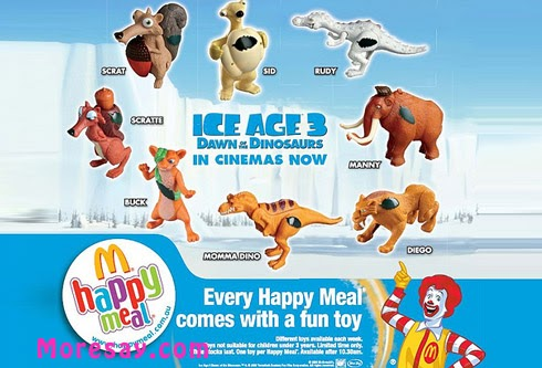 McDonalds Happy Meal Ice Age Continental Drift Shira 5