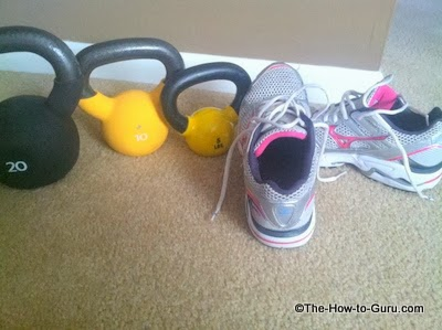 kettlebell workout fitness