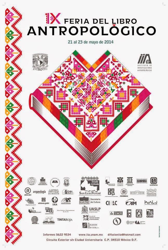 IX Feria del Libro Antropológico IIA-UNAM
