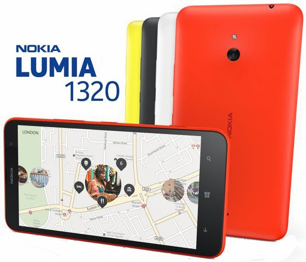 Harga Nokia Lumia 1320