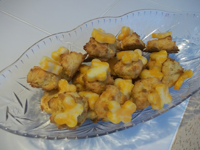 tea party food cheese scones
