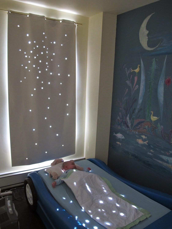 Kerlap kerlip bintang kamar tidur anak