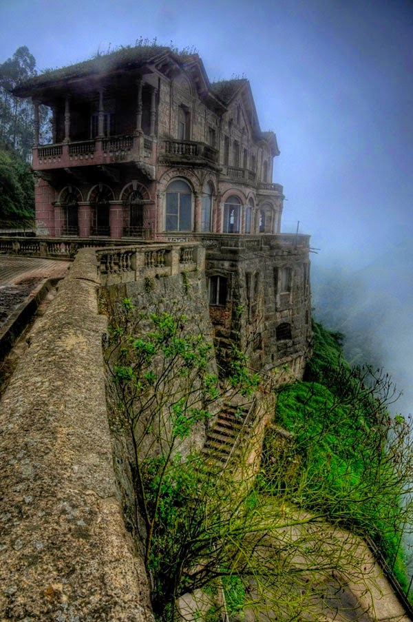 Заброшенный отель «Сальто» в Колумбии