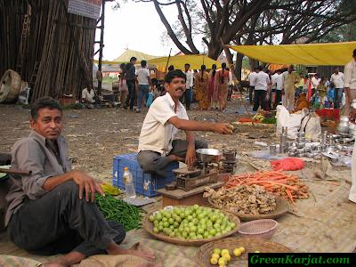 happy vendors posing