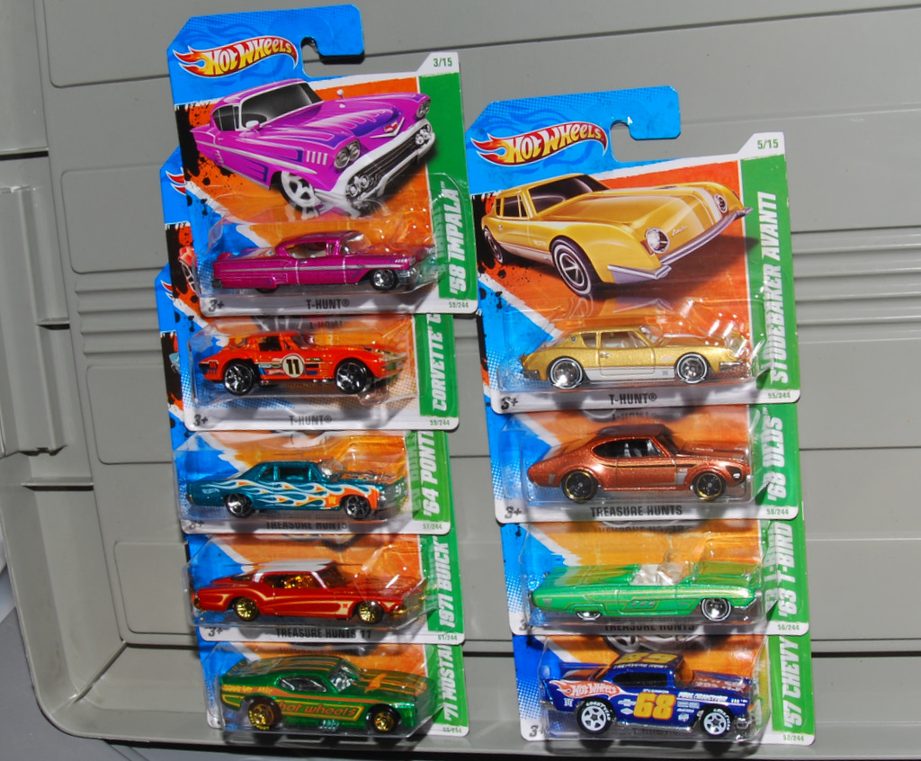 collecting hotwheels t hunts are getting popular nowadays some got it