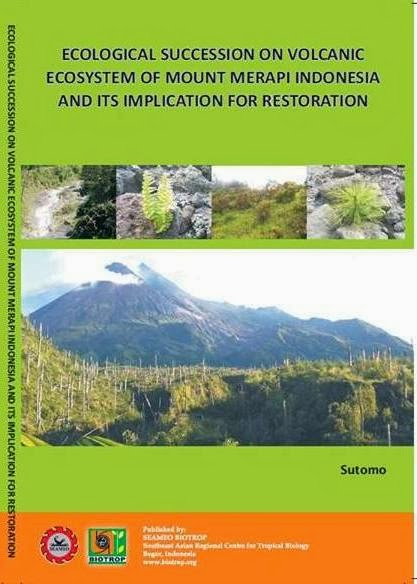 Ecological Succession on Mount Merapi Indonesia