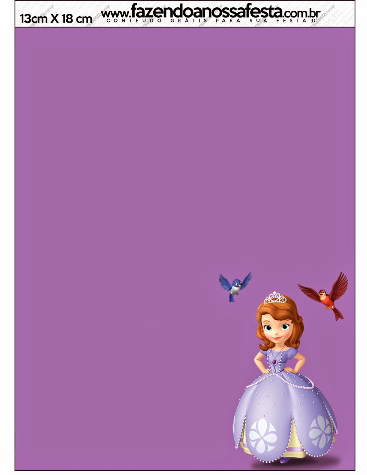 Sofia The First Party Invitations as adorable invitation example