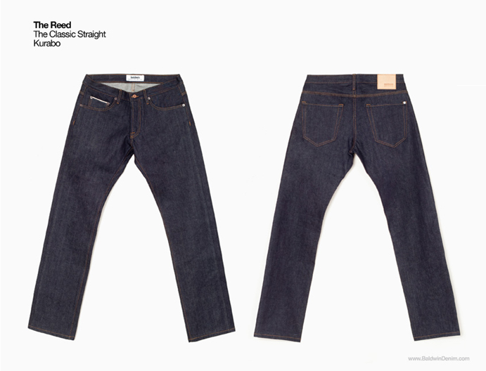 Baldwin denim The Reed