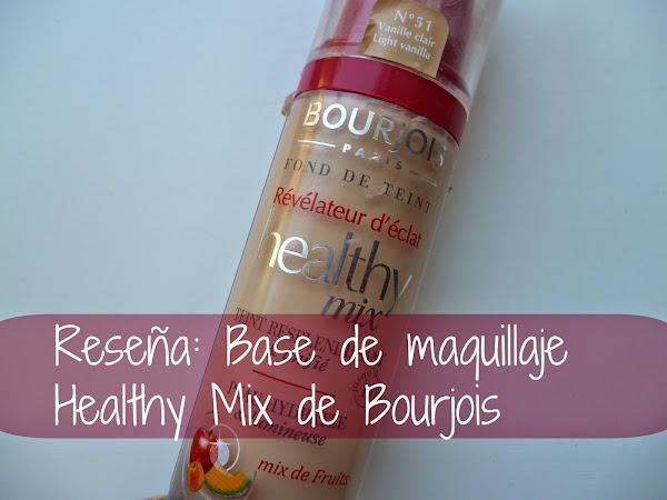Reseña: Base de maquillaje Healthy Mix de Bourjois