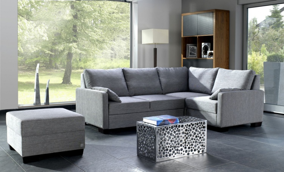 Ideas para un sof gris rinconero en el sal n decoraci n for Chaise longue interiores