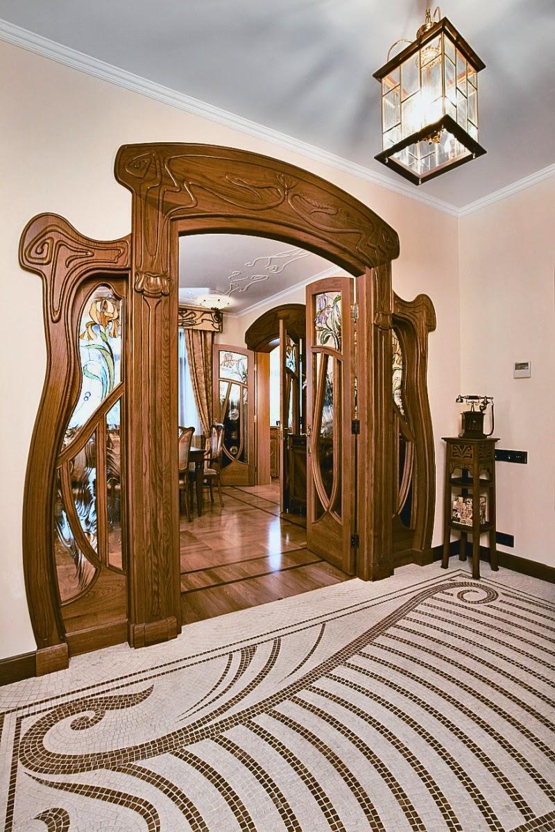 Desain interior art nouveau