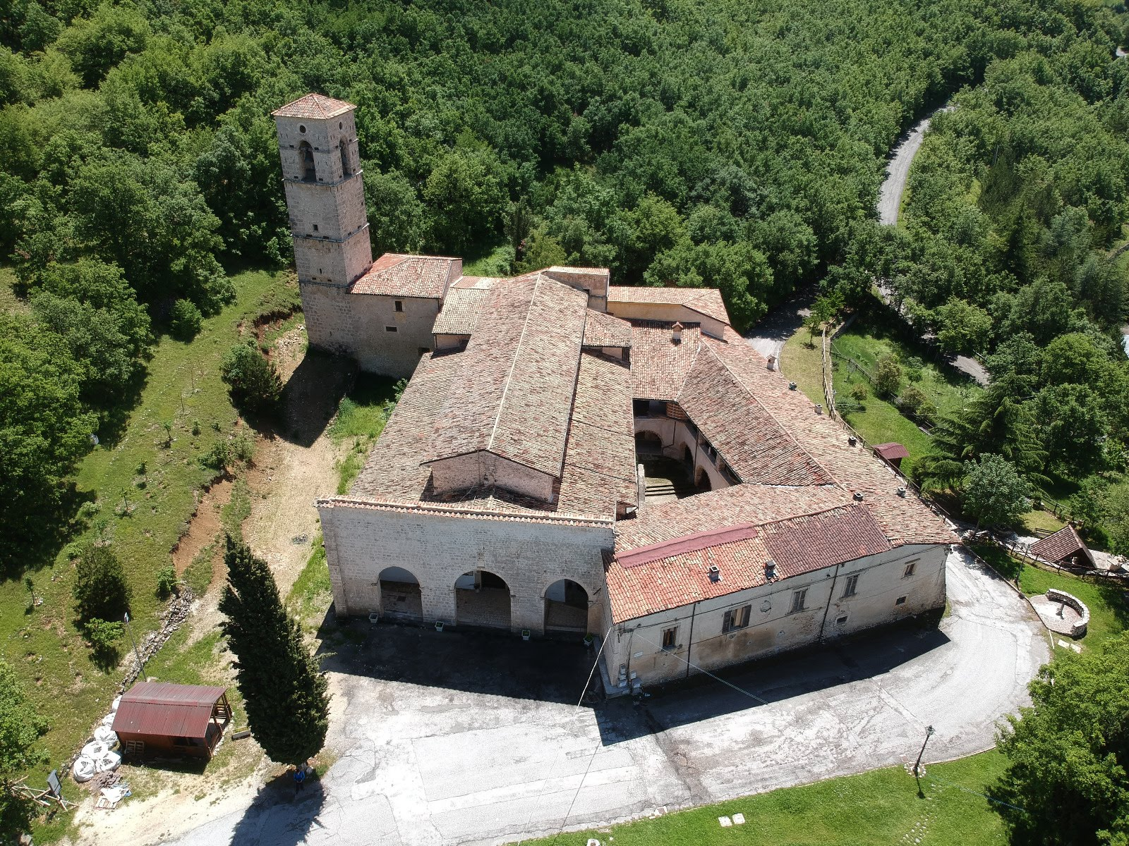 Uno dei beni architettonici più importanti del territorio sul portale di Abruzzo Turismo