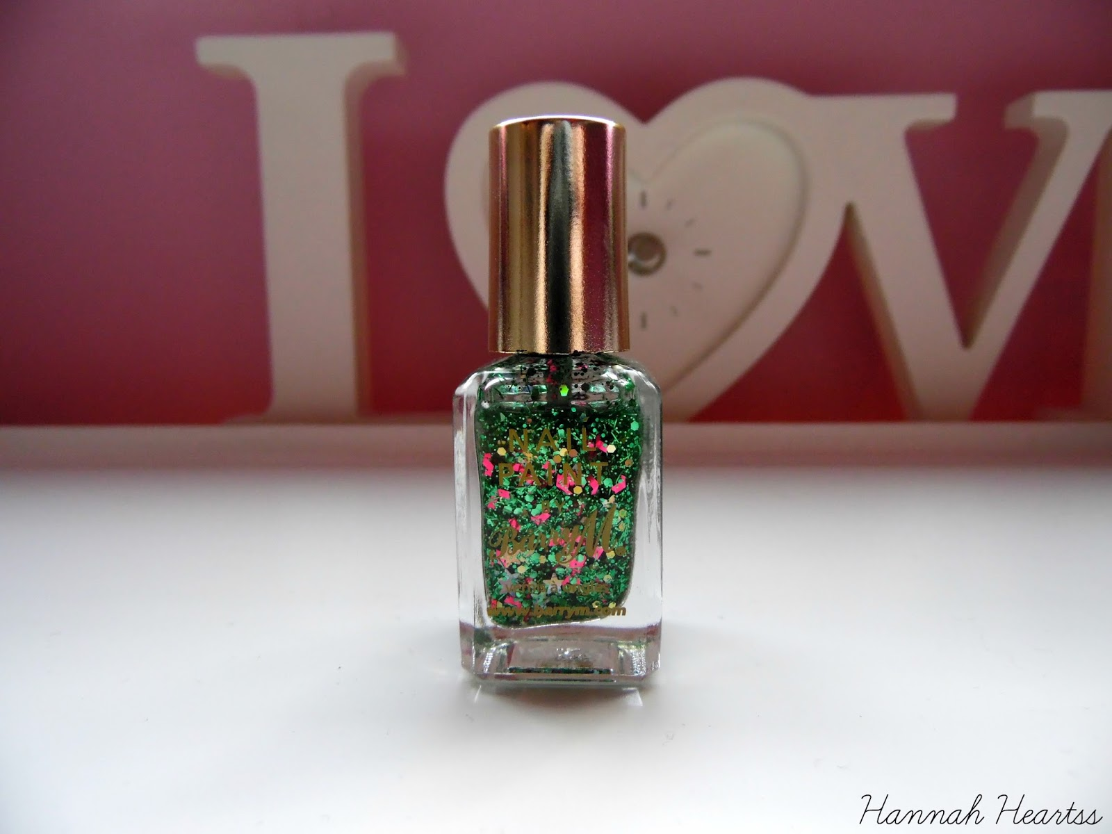 Barry M Christmas Tree Nail Polish